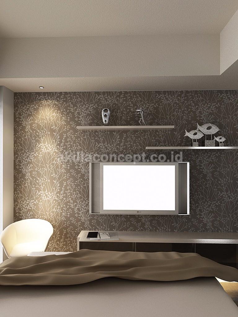 Jasa Desain Interior Surabaya Apartemen type STUDIO Idea