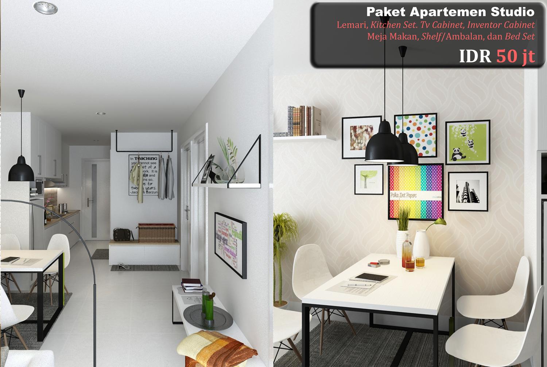 Apartment puncak permai surabaya design interior for Design interior surabaya